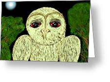Hibou Greeting Card