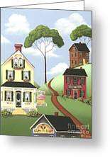 Hickory Grove Greeting Card by Catherine Holman