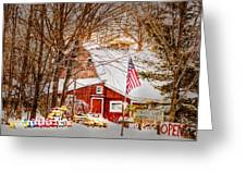 Hickory Lake Woodworks Greeting Card