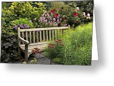 Hidden Garden Charm Greeting Card