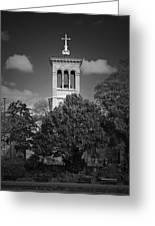 Hidden Church On Thames Greeting Card