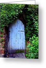Hidden Doorway Greeting Card