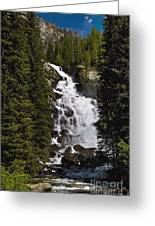 Hidden Falls Jenny Lake Greeting Card