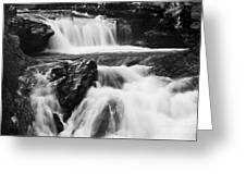 Hidden Falls Sheep River 1 Greeting Card
