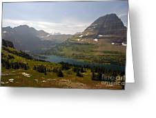 Hidden Lake - Glacier Greeting Card