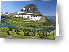 Hidden Lake In Glacier National Park Greeting Card
