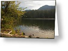 Hidden Lake No. 1 Greeting Card