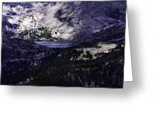 Hidden Lakes Greeting Card