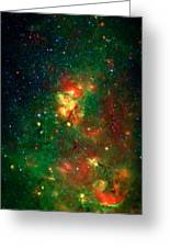 Hidden Nebula 2 Greeting Card by Jennifer Rondinelli Reilly - Fine Art Photography