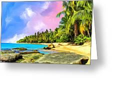 Hidden Paradise Greeting Card
