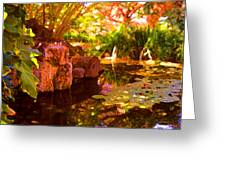 Hidden Pond Greeting Card
