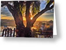 Hidden Sunset Greeting Card