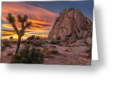 Hidden Valley Rock - Joshua Tree Greeting Card
