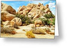 Hidden Valley Trail Greeting Card