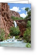 Hidden Waterfalls Greeting Card