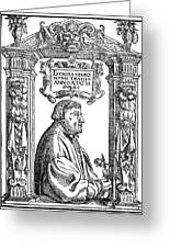 Hieronymous Bock (c1489-1554) Greeting Card