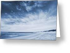 Higbee Beach Cyanotype Greeting Card