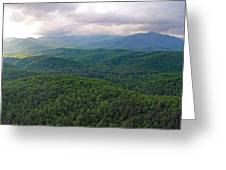High Country 3 In Wnc Greeting Card