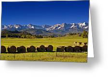 High Country Harvest Greeting Card