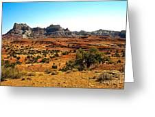 High Desert View Greeting Card
