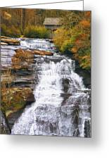 High Falls Greeting Card by Scott Norris