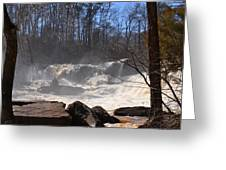 High Falls State Park Greeting Card
