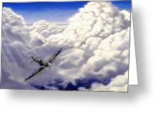 High Flight Greeting Card by Michael Swanson
