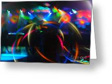 High Frequency Glow Greeting Card