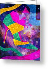 High Heels On Ropes Greeting Card by Kenal Louis
