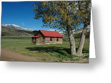 High Lonesome Ranch Greeting Card by Jerry McElroy