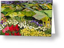 High Mountain Patch Greeting Card