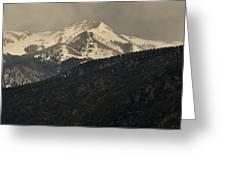 High Mountains Of Taos Greeting Card