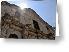 High Noon At The Alamo Greeting Card