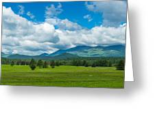 High Peaks Area Of The Adirondack Greeting Card