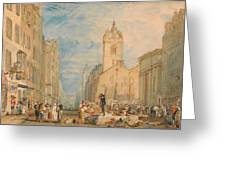 High Street - Edinburgh Greeting Card