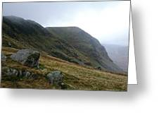 High Street Fell In Lake District Greeting Card