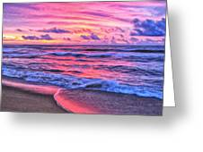 High Tide At San Onofre Greeting Card