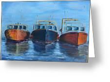 High Tide Breton Harbor Greeting Card