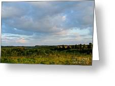 High Valley View 1 Of2 Greeting Card