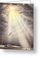 High Wire - Dream Series No. 4 Greeting Card