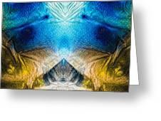 Higher Love Art By Sharon Cummings Greeting Card