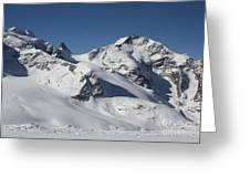 Highest Peak St Mortiz Greeting Card