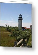 Highland Light - Cape Cod - Ma Greeting Card