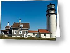 Highland Lighthouse Or Cape Cod Lighthouse Greeting Card