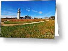 Highland Point Light Greeting Card