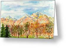 Highlands Autumn Greeting Card