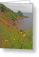 Highlands Coastline In Cape Breton Highlands Np-ns Greeting Card