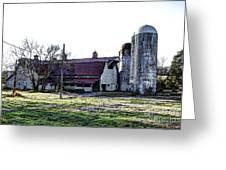 Highway 11 Barn Greeting Card