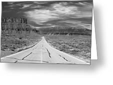 Highway 128 Greeting Card