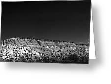 Highway 502 To Los Alamos Nm Greeting Card